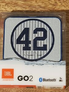 JBL GO2 Mariano Rivera, Rechargeable Portable Bluetooth Waterproof Speaker. NEW!