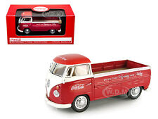 VOLKSWAGEN T1 PICKUP TRUCK RED COCA COLA 1/43 BY MCC 440546