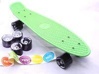 Indy Retro Cruiser Skateboard Pennyboard, 70er Jahre-Stil Vintage, Grün *NEU*