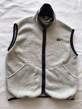 Vtg REI Fleece Vest lightweight Polartec Classic zip front men's sz L (C16)