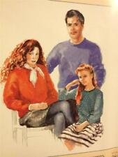 J&L Patterns Sewing Pattern 080 Family Dropped Shoulder Windcheaters Size 2-14