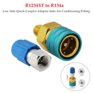 R1234YF to R134a Low Side Coupler Adapter Auto Air Conditioning Fitting Car Kit