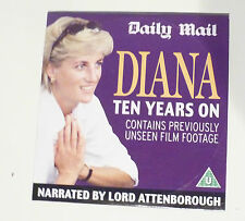 Princess Diana - Ten Years On.on DVD Richard Attenborough Unseen Footage Royal W