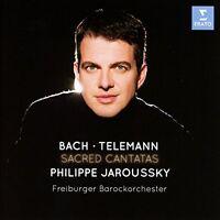 Philippe Jaroussky - Bach / Telemann: Sacred Cantatas [CD]
