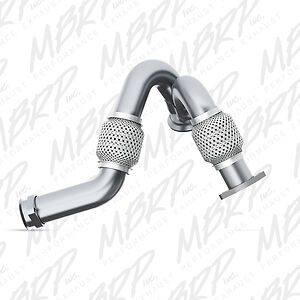 """MBRP FAL2313 03/07 FORD 6.0L POWERSTROKE MBRP HEAVY-DUTY TURBO """"Y"""" PIPE UP PIPE"""