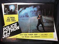 FOTOBUSTA CINEMA - POLICE PYTHON 357 - YVES MONTAND - 1975 - POLIZIESCO - 04