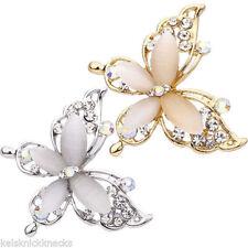 Butterfly Rhinestone Fashion Brooches