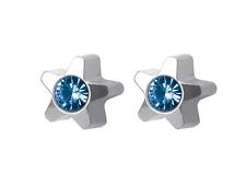 3 Paar medizinische Ohrstecker,Gesundheitsstecker, Ohrringe mit Stein Ø3,9mm Neu