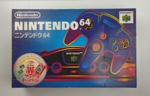 Nintendo 64 Jap Console N64 boxed - SERIAL MATCH - 3 games includet Mario !!!