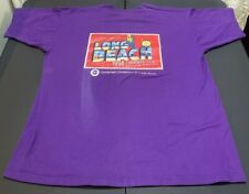 Fruit Of The Loom Pioneer Brand Products Purple South Beach T-shirt Sz XL