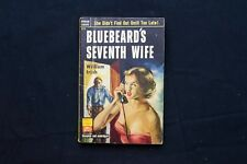 "William Irish ""Bluebeard's Seventh Wife"" Pop Lib 473 (Cornell Woolrich)"