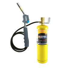 Bluefire Self Ignition 3ft Hose Gas Welding Torch Kit With Mapp Propane Map Pro