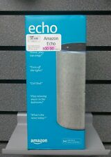 Amazon Echo | 2nd Generation -Heathered Grey Fabric | New & Sealed | Ships FAST