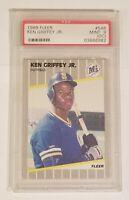 1989 Ken Griffey JR. Fleer Rookie Card PSA 9 (OC) #548 HOF Mariners