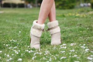 CLEARANCE Tasman Heel UGG Boots Premium Sheepskin -COMFORT & WARM