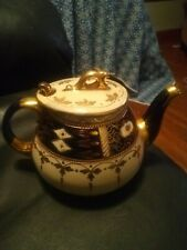 Vintage Ceramic Hand Painted England Teapot