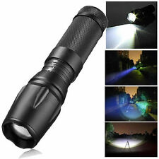 10000LM Zoomable XM-LT6 LED 18650 Flashlight Torch 26650/AAA Lamp G700 X800