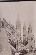 Abbaye du Mont-Saint-Michel Photo Neurdein Vintage albumine ca 1880