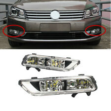 Fit For VW Passat B7 Euro Style 2011-2014 Front LED Fog Light Lamp Foglights