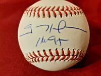Padres TREVOR HOFFMAN Signed Official MLB Baseball AUTO w/ HOF '18 - Brewers JSA