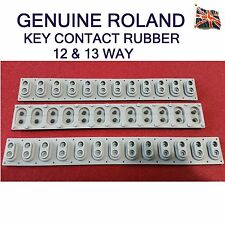 Genuine Roland de rechange 12 13 Way contact caoutchouc Interrupteur Juno-D Juno-G VR-09 AX-09