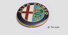 Emblème Insigne Calandre Coffre AUTOCOLLANT 74 mm l' ancien logo Alfa Romeo 156
