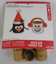 Creatology Craft Tube Kit New Penguin Snowman Makes 12