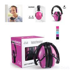 Ear Muffs Safety Hearing Protection Gun Shooting Range Loud Noise Reduction Pink