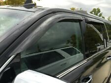 Chevy Suburban 2015 - 2019 Tape-On Wind Deflector Vent Visor Shades 4pc