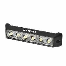"KAWELL 18W 7.5"" DC 9-32V Flood 1200LM 60 Degree LED for ATV/Jeep/boat/suv/truck"