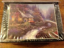 1998 Thomas Kinkade 100 Pc Miniature Jigsaw Puzzle Morning Painter Of Light NEW!