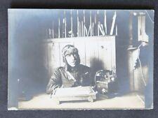 Photo presse avion aviateur WW1 -  Archives Georges Bélix / Caudron aviation