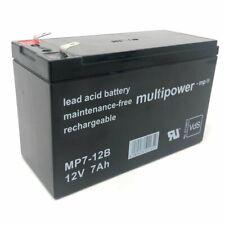 Ersatzakku (multipower) für USV APC RBC110 12V 7Ah (ersetzt 7,2Ah) 12V 7Ah Lead-
