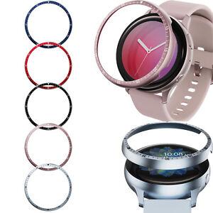 For Samsung Galaxy Watch Active 2 40MM/44MM Metal Watch Bezel Anti-scratch Ring