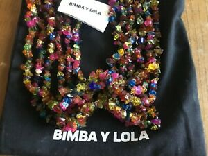 Bimba y Lola costume necklace, multicoloured.