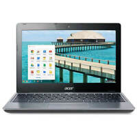"Acer C720-2848 11.6"" LED Chromebook Intel Celeron Dual Core 1.4GHz 2GB 16GB SSD"