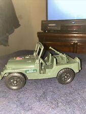 Vintage PROCESSED PLASTIC Co. U.S. ARMY JEEP Toy #739 , G.I. Joe, Vintage Toys