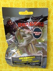 HOW TO TRAIN YOUR DRAGON 2 MINI BATTLE FIGURE 2nd SERIES BEWILDERBEAST