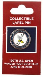 2020 US OPEN (Winged Foot) LAPEL PIN