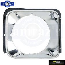 76 Nova Concourse HeadLight HeadLamp Head Light Lamp Chrome Bezel Trim Door RH