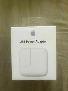 Genuine 12w Original  Apple Fast Mains Wall Charger Adapter Plug -A1401