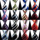 Fashion 16 Colors 100% Silk Stripes Classic JACQUARD WOVEN Men's Tie Necktie