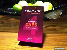 SNOKE Energy CAPS mit Nikotin 4x für E-Zigaretten = 100 herkömmlichen Zigaret.
