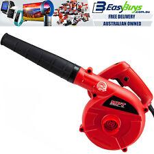 Electric Leaf Blower Portable 6 Speed 400W Hi-Torque Powerful MPT Motor Garden