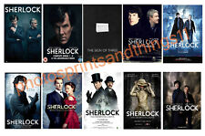 SHERLOCK  -  TV POSTERS POSTCARD SET # 2