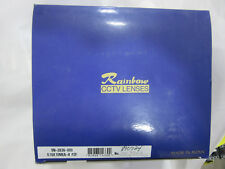 Rainbow S10X10MEA-II PZF Camera 10~100MM 1:14 Lens TV Zoom NEW!! in Factory Box