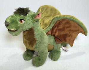 "Disney Parks Petes Dragon Elliot Plush 20"" Green Dino Winged Stuffed Animal"