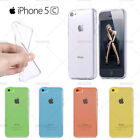 COQUE HOUSSE SILICONE GEL TRANSPARENTE POUR IPHONE 5C + FILM PROTECTION