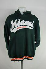 Miami Hurricanes NCAA Starter Men's Fleece Hooded Sweatshirt