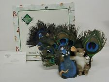 Fitz And Floyd Charming Tails Proud As A Peacock Of You Figurine 89/320